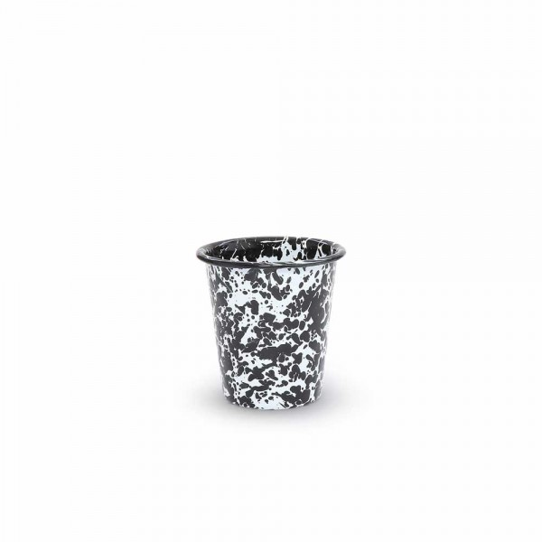Crow Canyon Home Emaille Becher klein Marmor