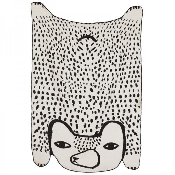 Donna Wilson Decke Bär Baumwolle