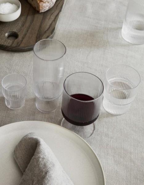 Ferm Living Ripple Wine Glasses Set of 2