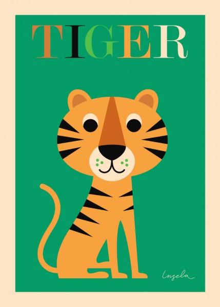 Omm Design Poster Tiger