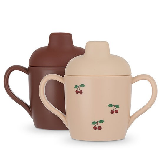 Konges Slojd Sippy Cup Cherry Set