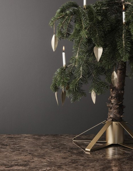 Ferm Living Christmas Tree Foot Brass