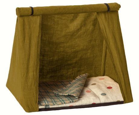 Maileg Mause Zelt Happy Camper