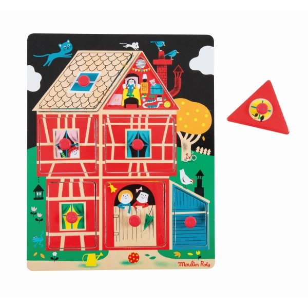 Moulin Roty Holzpuzzle