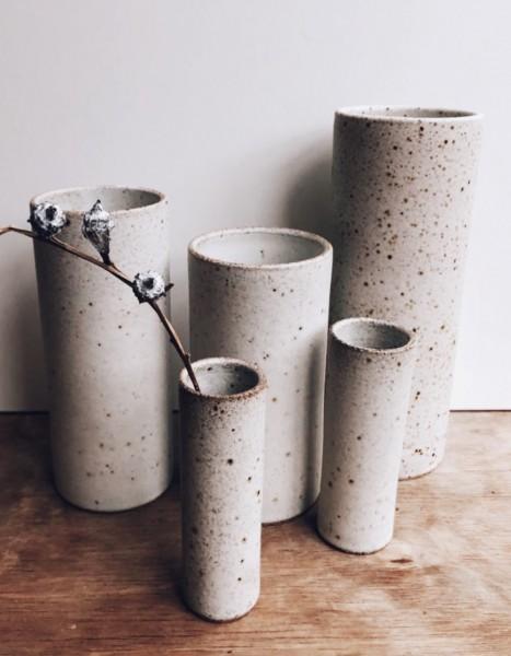 Viki Weiland Vase Zylinder klein