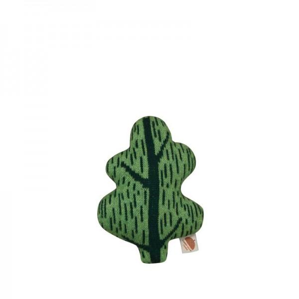 Donna Wilson Kissen Blatt Mini Grün