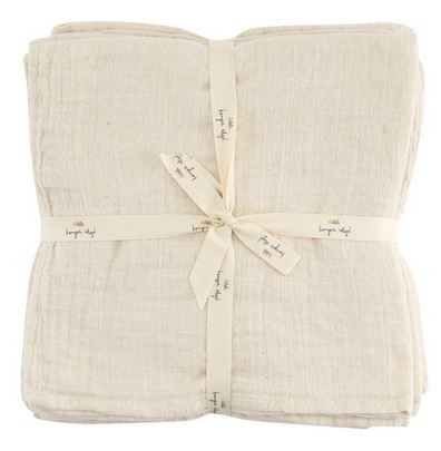 Konges Slojd Muslin Nature 10er Set