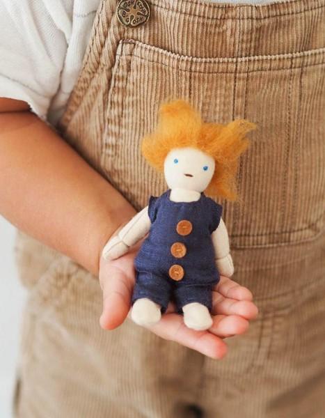 Olli Ella Holdie Folk Puppe Leif