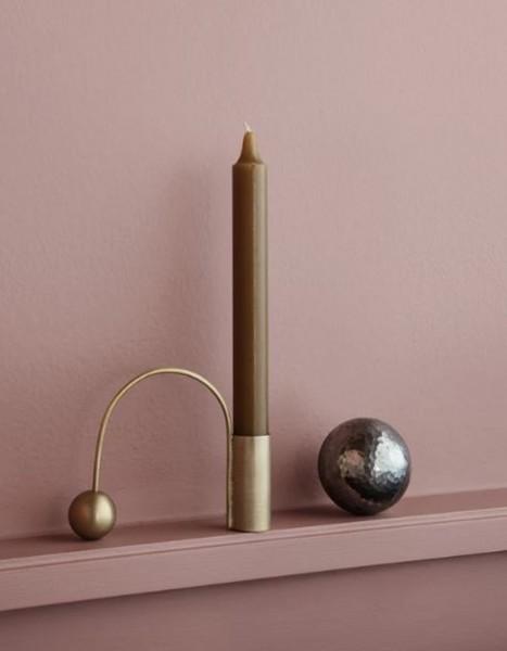ferm LIVING Kerzenhalter Balance Brass