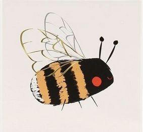 Meri Meri Tattoos Bee and Ladybird