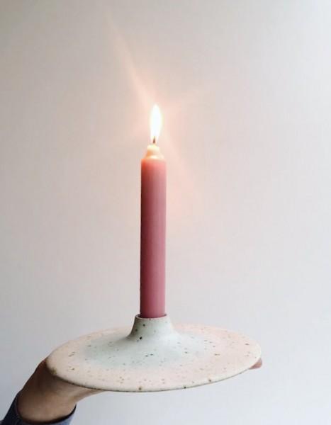 Viki Weiland Kerzenhalter groß weiß
