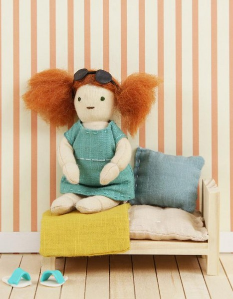 Olli Ella Holdie Folk Puppe Fern