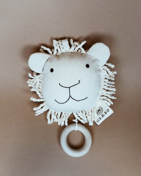 Leo Leo Spieluhr weißer Löwe