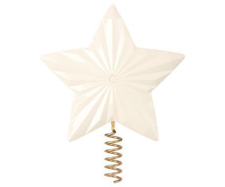 Maileg Weihnachtsbaumspitze Stern weiß