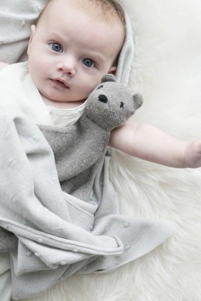 Hvid Teddy Tokki
