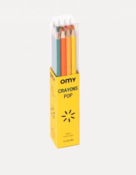 Omy Pop Buntstifte Set 16 Stück