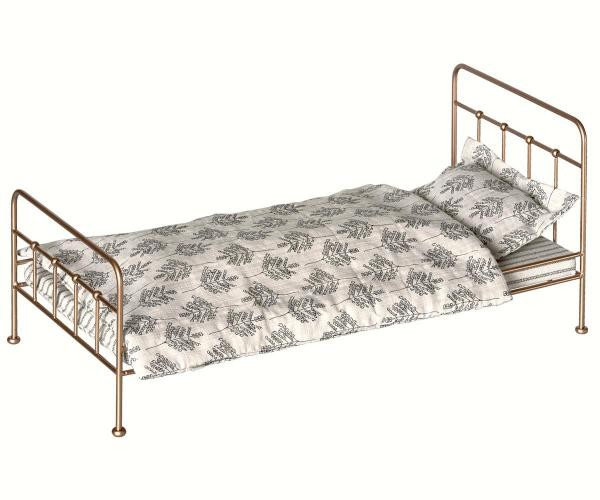 Maileg Puppenbett Medium gold