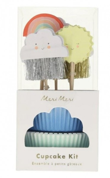 Meri Meri Happy Weather Cupcake Kit