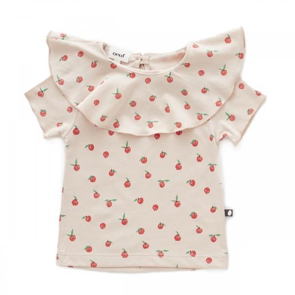 Oeuf Nyc Kragen Shirt Peach