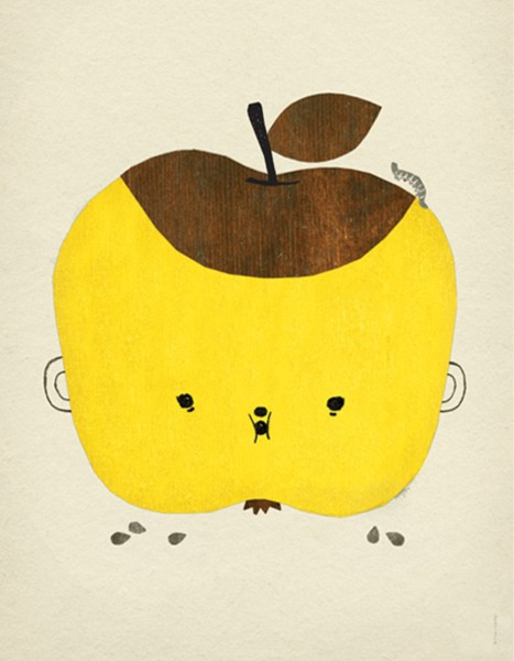 Fine little day Poster Apple Papple