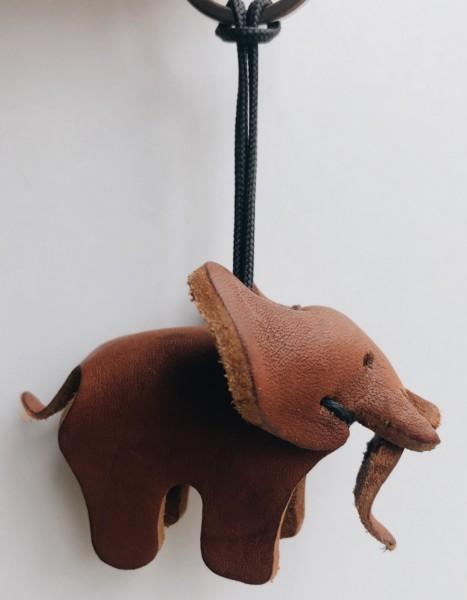 Siyabonga Mama Elefant Schlüsselanhänger braun