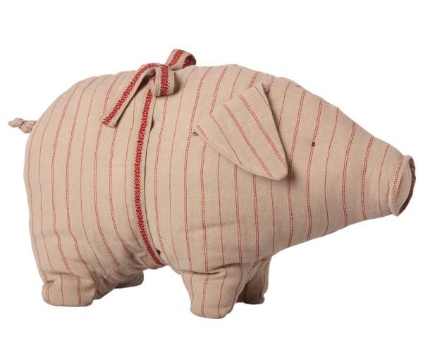 Maileg Schwein medium stripes
