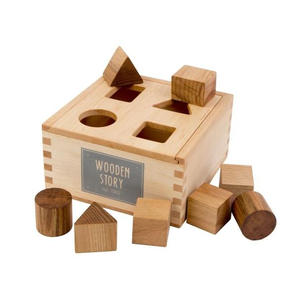 Woodenstory Sortierbox Natur