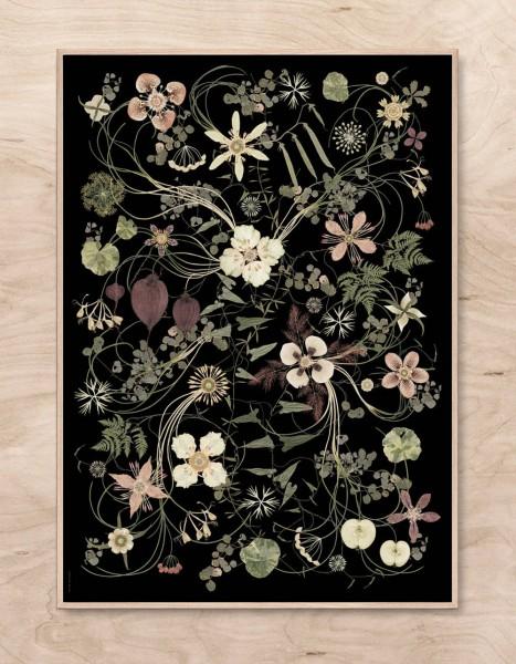 Lotta Olsson Poster Fredriksdal meadow