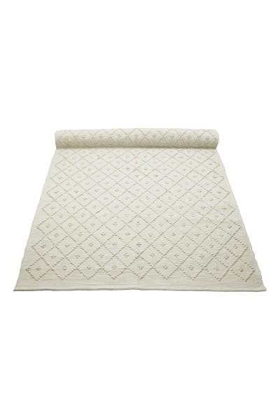 Naco Diamond Teppich weiß