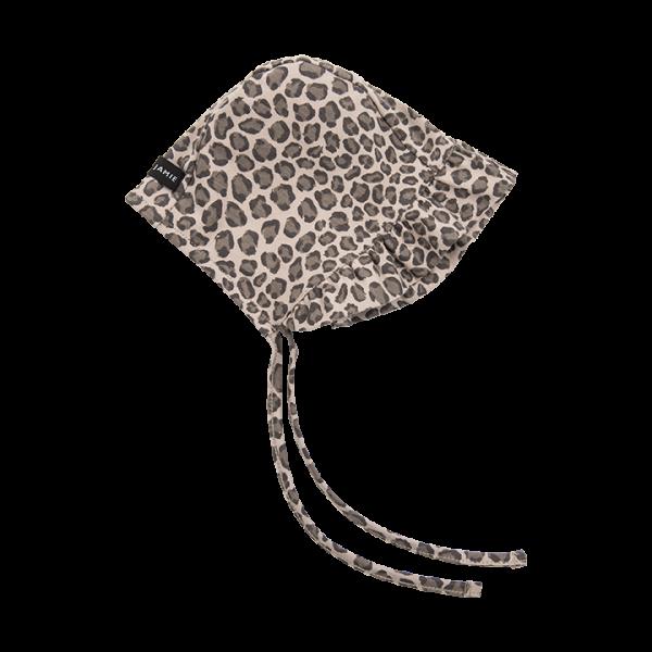 House of Jamie Rüschenmütze - Caramel Leopard