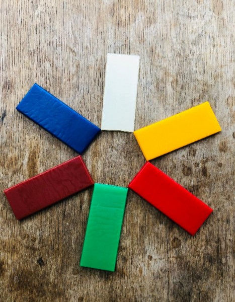 Stockmar Knetbienenwachs 6 Farben
