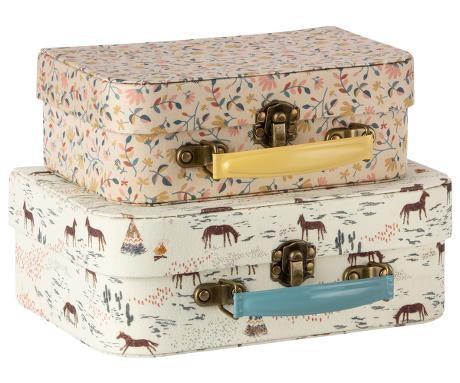 Maileg Koffer Set mit Stoff bezogen