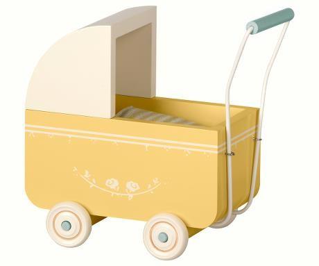 Maileg Puppenwagen Micro Gelb