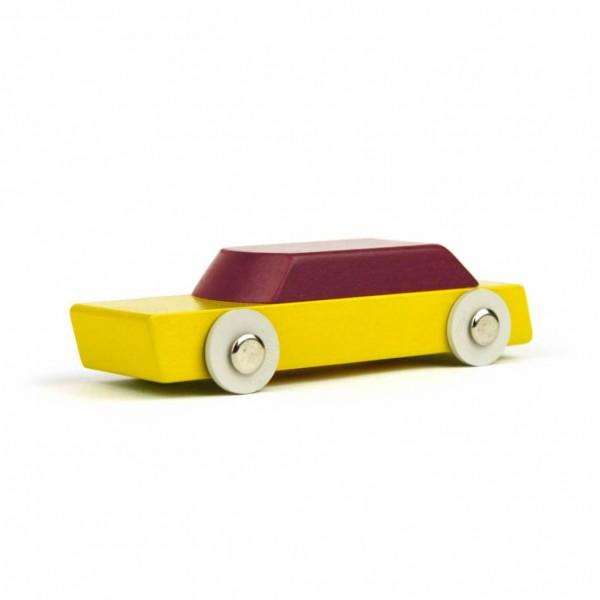 Ikonic Toys Duotone Auto gelb