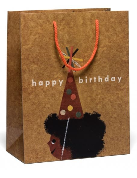 Red Cap Cards Birthday Bag Afro