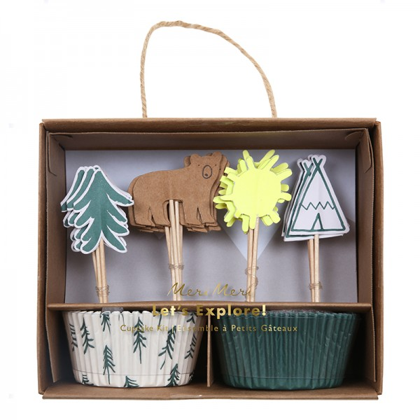 Meri Meri Cupcake Kit Lets Explore