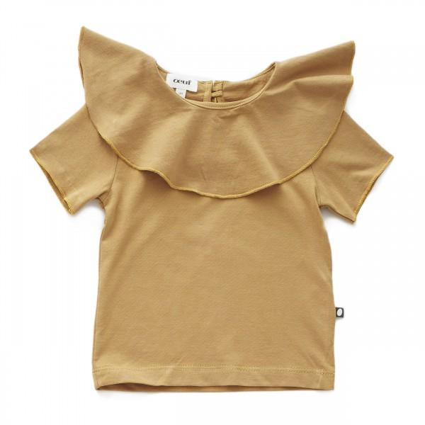 Oeuf Nyc Kragen Shirt Ochre