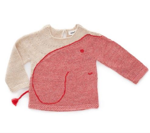 Oeuf NYC Pullover Elefant