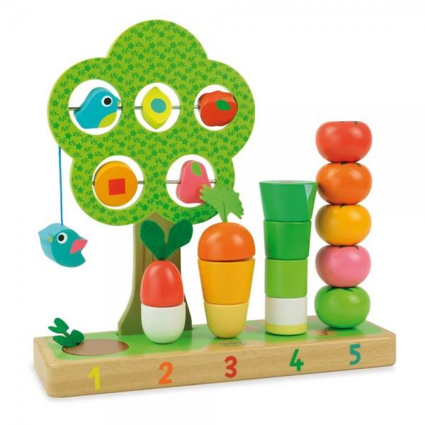 Vilac Zahlen lernen mit Gemüse