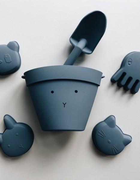 LIEWOOD Sandspielzeug Rabbit blue
