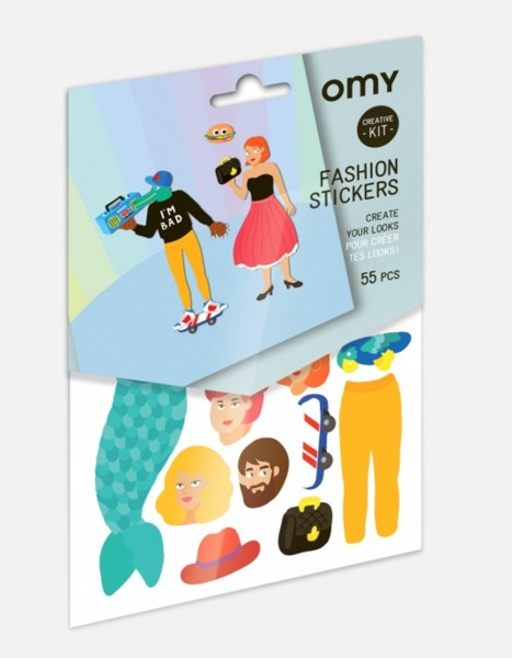 Omy Creative Kit Fashion Sticker