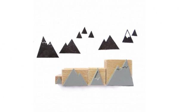 NUUKK Stempelset Berge