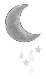 Konges Slojd Mond Mobile silber