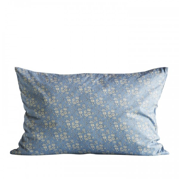 Tine K Home Liberty Kissen Bezug Blue India 40 x 60