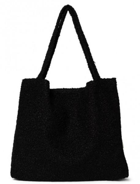 Studio Noos Mom Bag Black Boucle`
